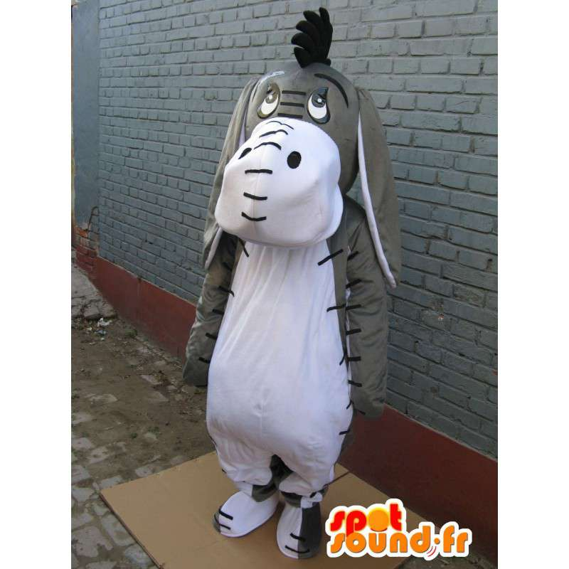 Mascot Shrek - Donkey - Ezel - Kostuum en de vermomming - MASFR00203 - Shrek Mascottes