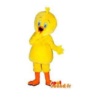 Mascot Titi - traje canário