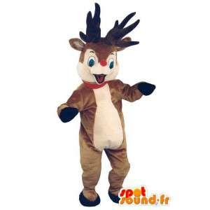 Mascot reindeer Santa Claus...