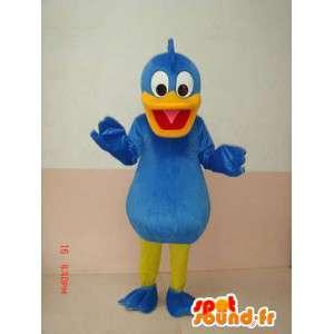 Blue Duck maskot - Donald Duck i forklædning - Kostume -
