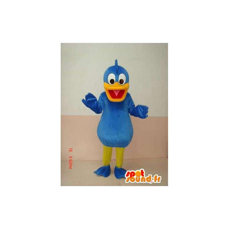 Duck Mascot Blue - Donald Duck in vermomming - Costume - MASFR00215 - Donald Duck Mascot