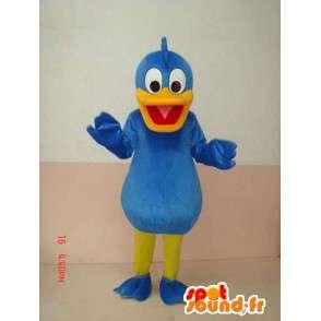 Ankka Mascot Sininen - Aku Ankka valepuvussa - Costume - MASFR00215 - Aku Ankka Mascot