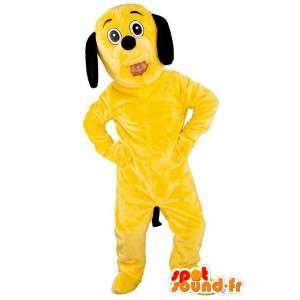 Yellow Dog Mascot - Koira...
