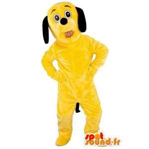 Yellow Dog Mascot -...