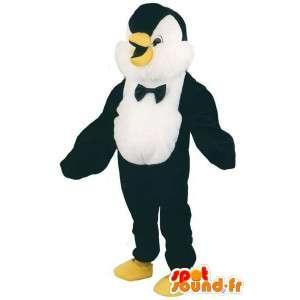 Traje de pingüino del smoking - mascota del pingüino