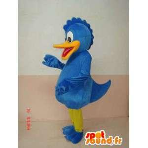 Kachna Maskot modrá - Kačer Donald v přestrojení - kostým - MASFR00215 - Donald Duck Maskot