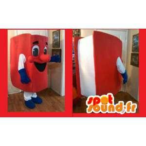 Mascot rød bok - boken Disguise