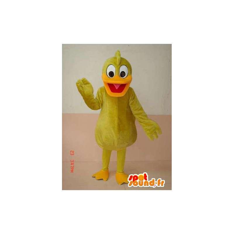Duck Mascot amarelo - amarelo traje canário - transporte rápido - MASFR00216 - patos mascote