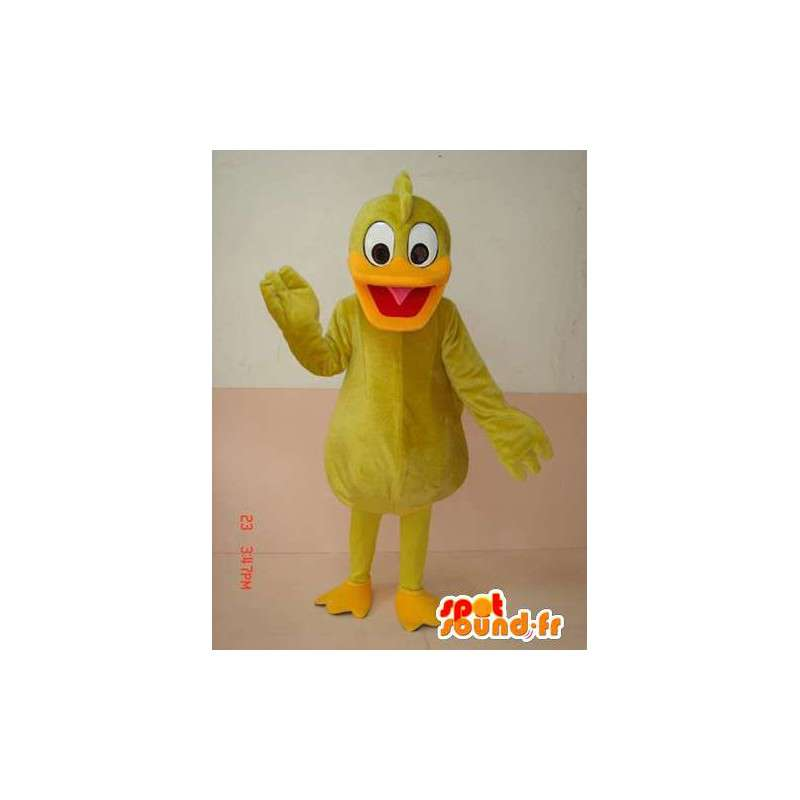 Mascotte Canard Jaune - Costume jaune de canari - Envoi rapide - MASFR00216 - Mascotte de canards