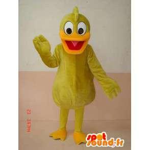 Anatra Giallo Mascot - Costume giallo canarino - Trasporto veloce - MASFR00216 - Mascotte di anatre