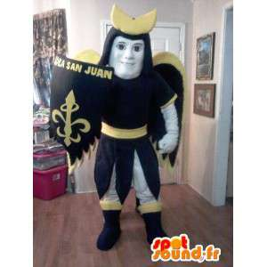 Knight mascot Saint - Holy Knight Costume - MASFR002608 - Mascots of Knights