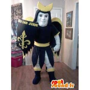 Mascotte São cavaleiro - cavaleiro traje santo - MASFR002608 - cavaleiros mascotes