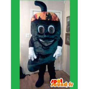 Peberformet maskot - Chili peber kostume - Spotsound maskot