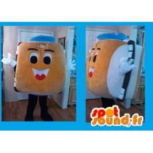 Hamburger Mascot - panino Costume - MASFR002611 - Mascotte di fast food