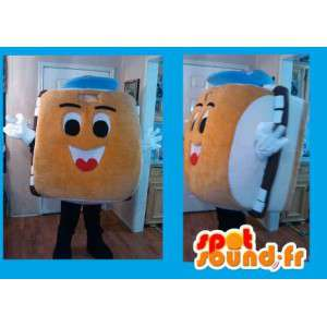 Hamburger maskot - Smörgåsdräkt - Spotsound maskot