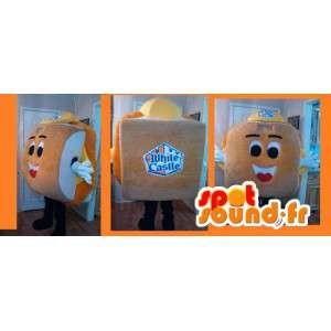 Hamburger Mascot - panino Costume - MASFR002612 - Mascotte di fast food