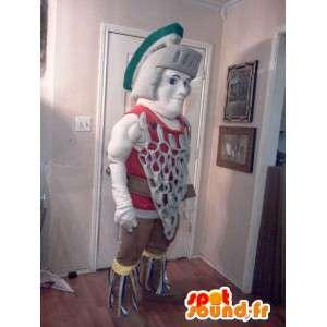 ローマの剣闘士のマスコット-ローマの衣装-MASFR002613-兵士のマスコット