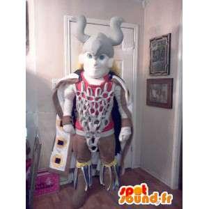 伝統的なバイキングのマスコット-バイキングの衣装-MASFR002616-兵士のマスコット