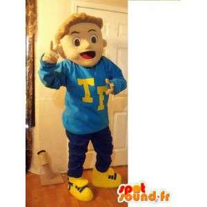 Mascot bear - Boy Costume - MASFR002637 - Mascots boys and girls