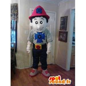 Mascotte de pompier - Déguisement de pompier - MASFR002639 - Mascottes Homme