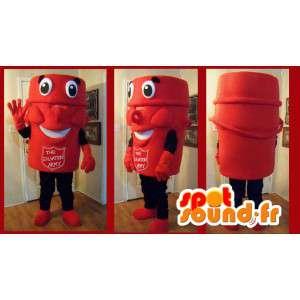 Mascot Heilsarmee rot - Kostüm Heilsarmee - MASFR002651 - Maskottchen der Soldaten
