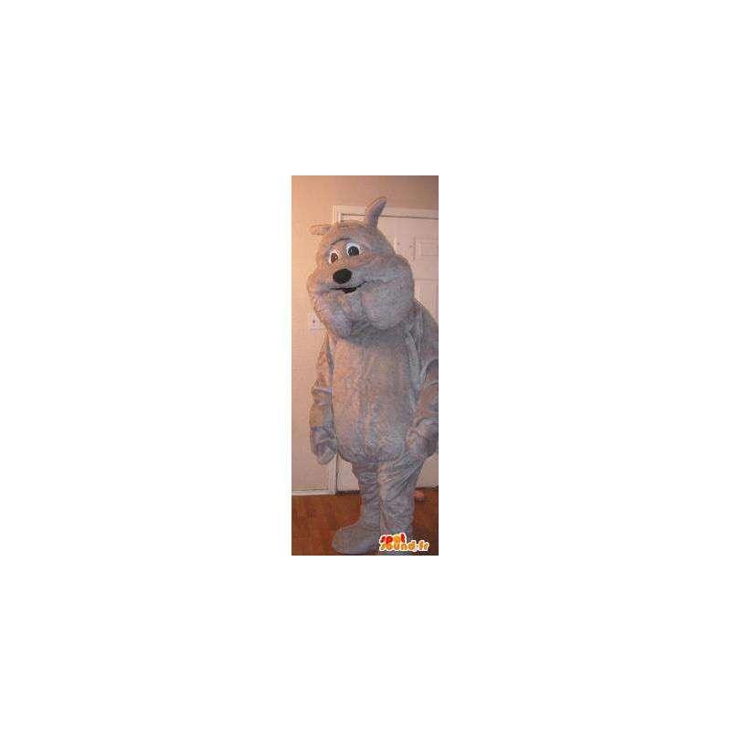 Mascotte d'Hector célèbre bulldog de Titi et Grosminet - MASFR002728 - Mascottes TiTi et Grosminet