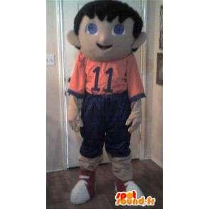 Mascotte de petit footballeur - Déguisement de footballeur - MASFR002734 - Mascotte sportives