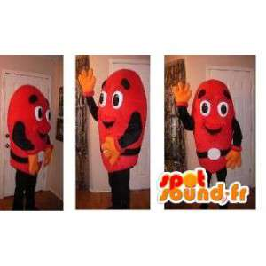 Red Mascot man - Disguise m & m's red