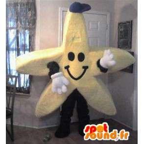 Mascot reuzenster - gele ster Disguise - MASFR002743 - Niet-ingedeelde Mascottes