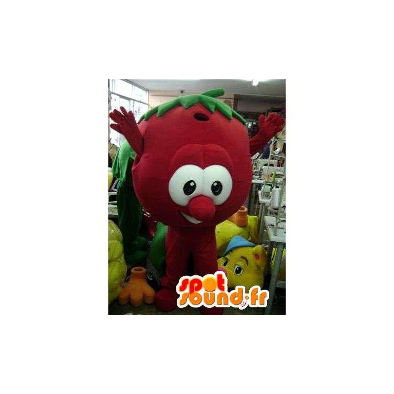 Mascot roten Früchten - rote Frucht Disguise - MASFR002753 - Obst-Maskottchen