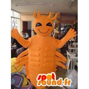 Pomarańczowy owady maskotka - Kostium Bug - MASFR002764 - maskotki Insect