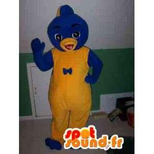 Maskotti sininen karhu - sininen karhu puku - MASFR002767 - Bear Mascot