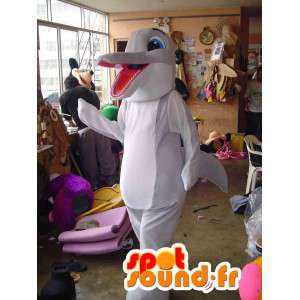 Dolphin maskot - Dolphin kostume - Spotsound maskot