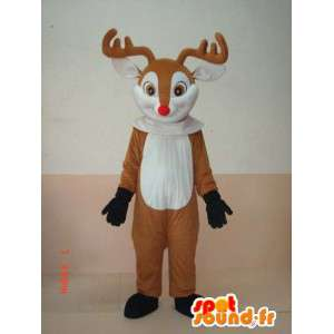 Deer Mascot Hood - Costume animal out of the woods