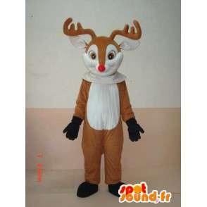 Μασκότ Deer ξύλο - Κοστούμια των ζώων έξω από το δάσος - MASFR00176 - Stag και Doe Μασκότ