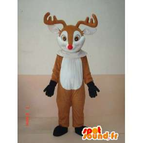 Maskotka Deer drewno - Animal Costume z lasu - MASFR00176 - Stag and Doe Maskotki