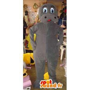 Mascot hippo - hippo costume - MASFR002781 - Mascots hippopotamus