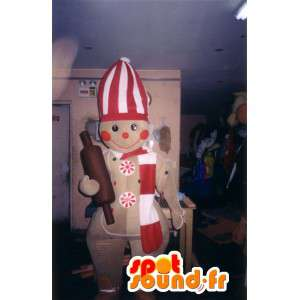 Tvarovaná maskot vařit sušenky - cookies kostým - MASFR002787 - maskoti pečivo