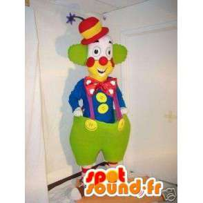 Riesen-Clown-Maskottchen - Circus Kostüme - Kostüm festlich - MASFR00612 - Maskottchen-Zirkus