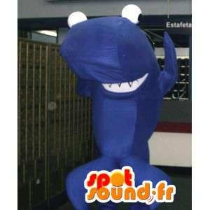 Maskot modrá velryba - modrá velryba převlek