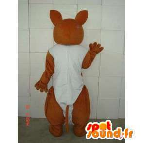 Mascot Kangaroo Austrália - Disguise com bebê - MASFR00229 - mascotes canguru