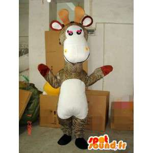 Special Giraffe mascot - Costume / Disguise animal of the savannah