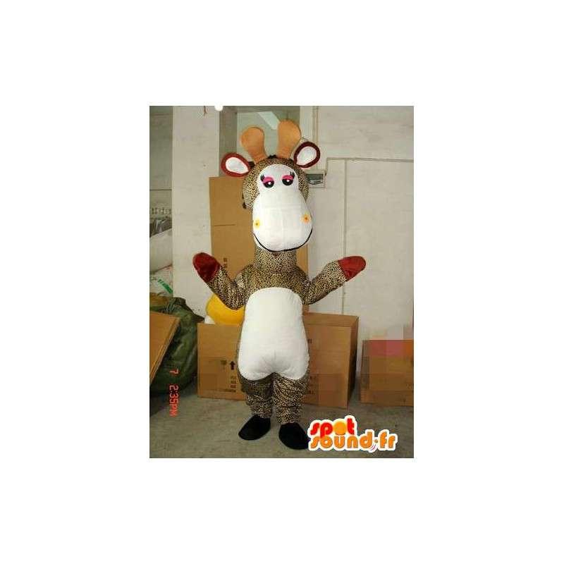 Special Giraffe mascot - Costume / Disguise animal of the savannah - MASFR00230 - Giraffe mascots