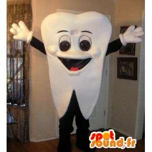 Mascotte Dent - Costume pour métier de dentiste et pharmacie