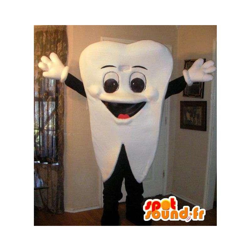 Tooth Mascot - Kostyme yrke tannlege og apotek - MASFR00232 - Ikke-klassifiserte Mascots