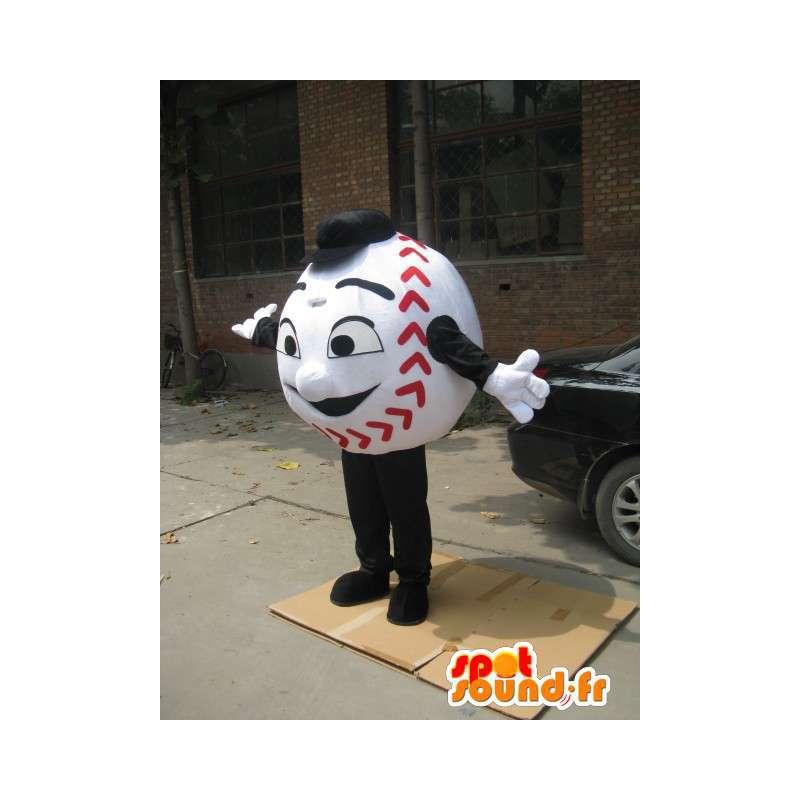 Ball Ball Mascot Base - baseball uomo Costume - MASFR00221 - Umani mascotte