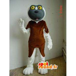 Alkuperäinen koira puku - koira maskotti  - MASFR002912 - koira Maskotteja