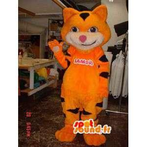 Oranje kat Mascot Plush - oranje kat kostuum - MASFR002919 - Cat Mascottes