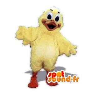 ぬいぐるみの黄色いアヒルのマスコット-巨大なアヒルの衣装-MASFR002939-アヒルのマスコット