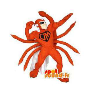 Superhero scorpion maskot - Scorpion kostume - Spotsound maskot
